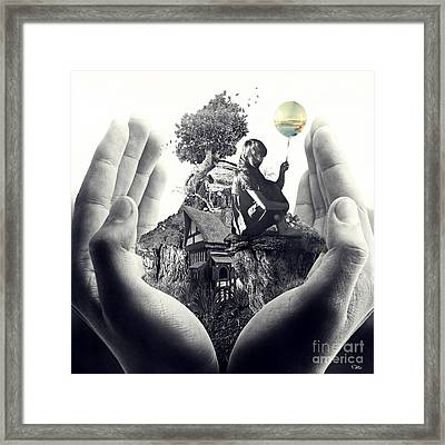 My Way Framed Print by Mo T