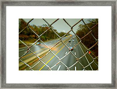 My Way Or The Highway Framed Print