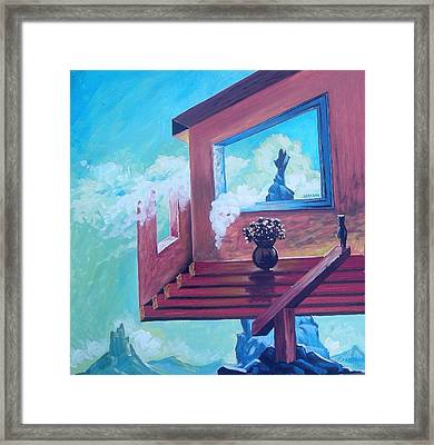 My Weird House Framed Print by Joe Santana