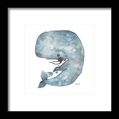 Little Mermaid Framed Prints