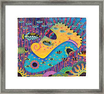 My Wife 1 Framed Print by Opas Chotiphantawanon