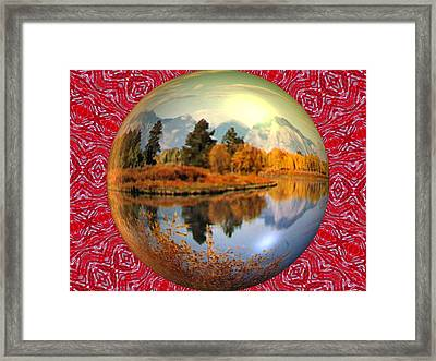 My World Framed Print by Guillermo Mason