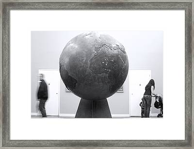 My World Framed Print by Jez C Self