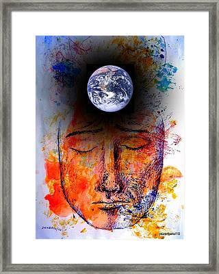 My World Framed Print by Paulo Zerbato