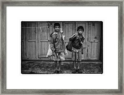 Myanmar Lost In Time 21 Framed Print by David Longstreath