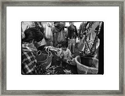 Myanmar Lost In Time 5 Framed Print