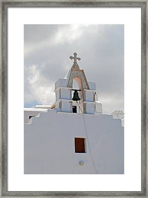 Mykonos Church Framed Print by Armand Hebert