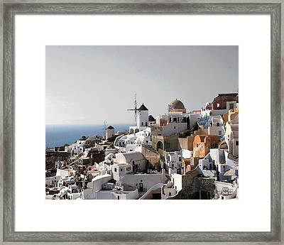 Mykonos Greece Framed Print by Jim Kuhlmann