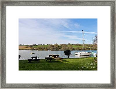 Mylor Creek Framed Print by Terri Waters