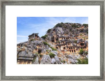 Myra - Turkey Framed Print by Joana Kruse