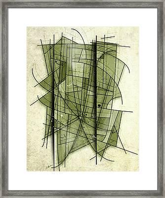 Myriad Framed Print by Gary Bodnar