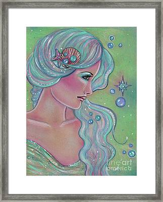 Myrna Framed Print by Renee Lavoie