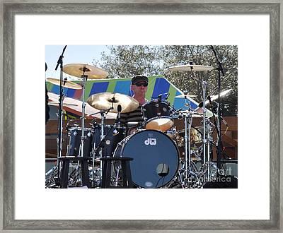 Myron Grombacher - Pat Benatar Band Framed Print