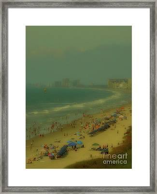 Myrtle Beach Framed Print by Jeff Breiman