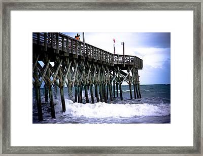 Myrtle Beach Pier Framed Print