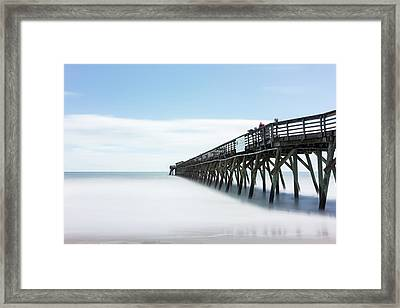 Myrtle Beach State Park Pier Framed Print by Ivo Kerssemakers