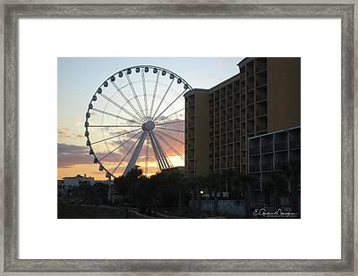 Myrtle Beach Sunset 2 Framed Print