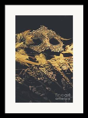Theater Masks Framed Prints