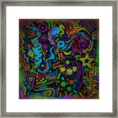 Mysteries Of The Night Framed Print by Kevin Caudill
