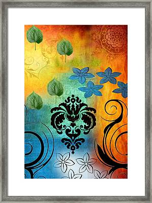 Mysteries Of The Origin Framed Print by Art Spectrum