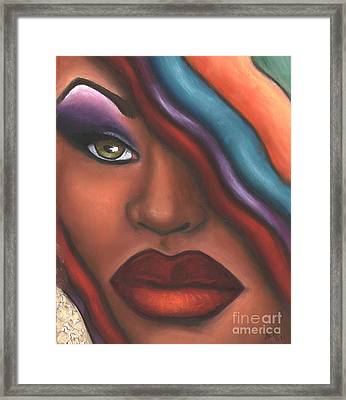 Mysterioso Too Framed Print