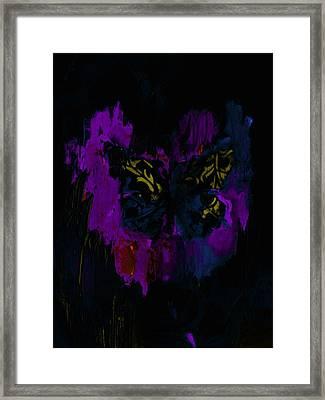 Mysterious By Lisa Kaiser Framed Print