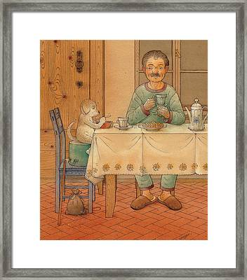 Mysterious Guest Framed Print by Kestutis Kasparavicius