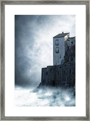 Mysterious House Framed Print by Joana Kruse
