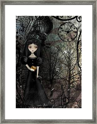 Mysterious Kingdom Framed Print by Charlene Zatloukal