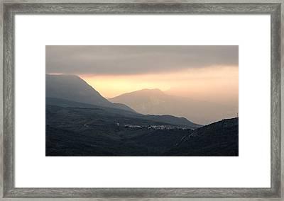 Mysterious Land Framed Print