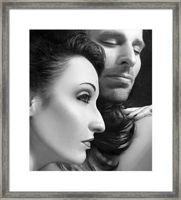 Mysterious Love  Framed Print
