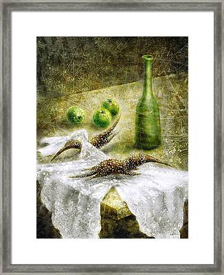 Mysterious Movement Framed Print