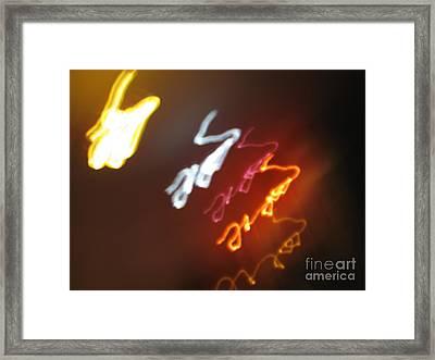 Framed Print featuring the photograph Mysterious Signature by Ausra Huntington nee Paulauskaite