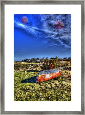 Mysterious Sky  Framed Print by Tommytechno Sweden