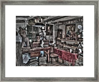 Mysterious Study Framed Print