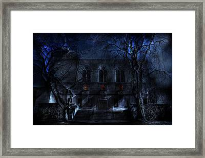 Mysterious Zembo Shrine Framed Print by Shelley Neff