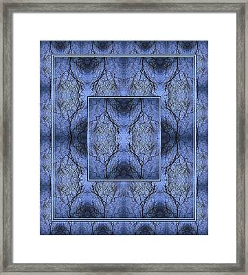 Mystery Blue Framed Print