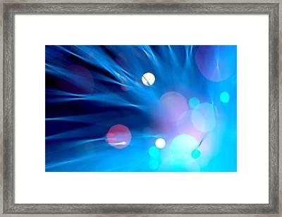 Mystery Framed Print by Dazzle Zazz