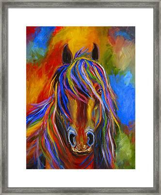 Mystery Horse Framed Print