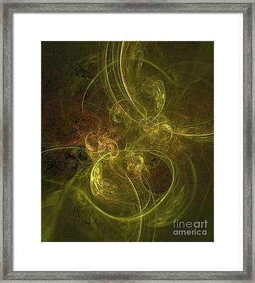 Mystery Of Space Framed Print