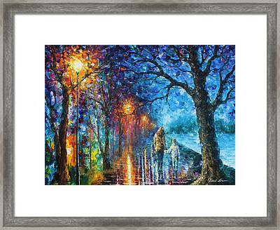 Mystery Of The Night Framed Print