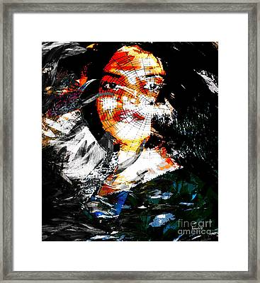 Mystery On The Victory Road Framed Print by Fania Simon