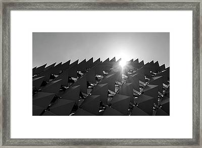 Mystery Structure Framed Print