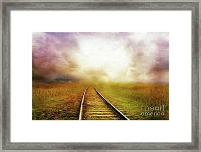 Mystery Tour By Sarah Kirk Framed Print