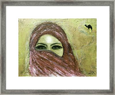 Mystery Within Framed Print by NARI - Mother Earth Spirit
