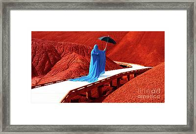 Into The Mystic 22 Framed Print