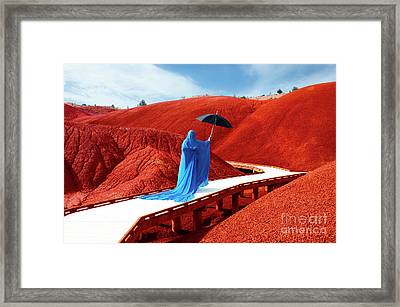 Into The Mystic 23 Framed Print