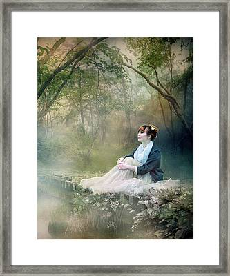Mystic Contemplation Framed Print by Mary Hood