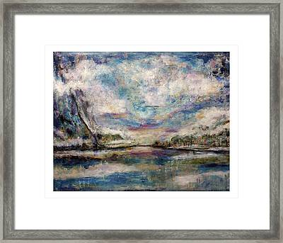 Mystic Cove Framed Print