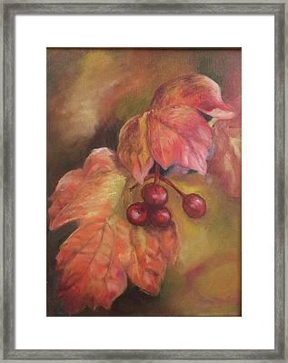 Mystic Fall Framed Print